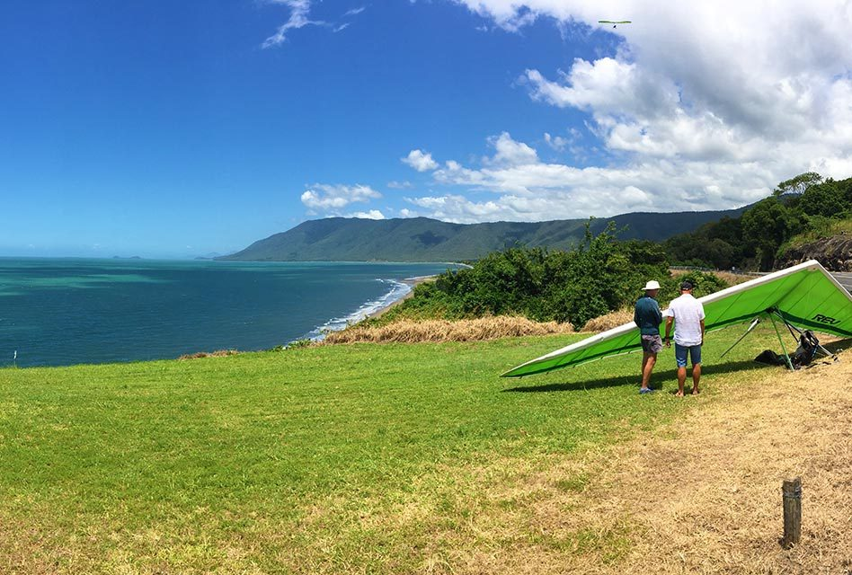Port Douglas Things To Do – Hang Gliding Over The Coral Sea