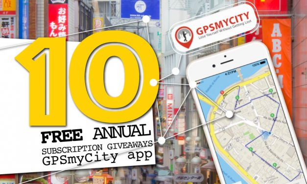 FREE Giveaway: GPSmyCity App