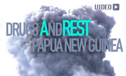 Drugs And Rest In Papua New Guinea